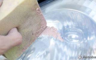 Полировка фар своими руками в домашних условиях: фото — всё о ремонте лада