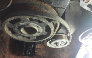 Как избежать замены шкива коленчатого вала — всё о ремонте лада