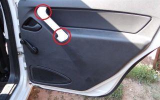 Установка обшивки крышки багажника лада гранта — всё о ремонте лада