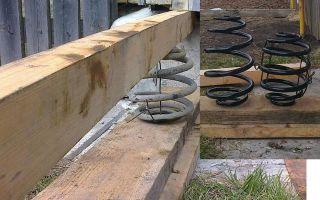 Как избежать частой замены задних амортизаторов и пружин — всё о ремонте лада
