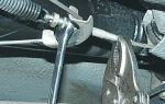 Как избежать замены тросов стояночного тормоза — всё о ремонте лада