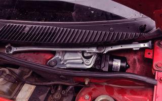 Диагностика работы трапеции и мотора стеклоочистителя — всё о ремонте лада