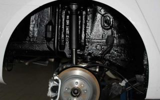 Дополнительная шумоизоляция арок — всё о ремонте лада