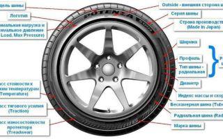 Маркировка шин и их расшифровка – как правильно выбрать шину на авто — всё о ремонте лада