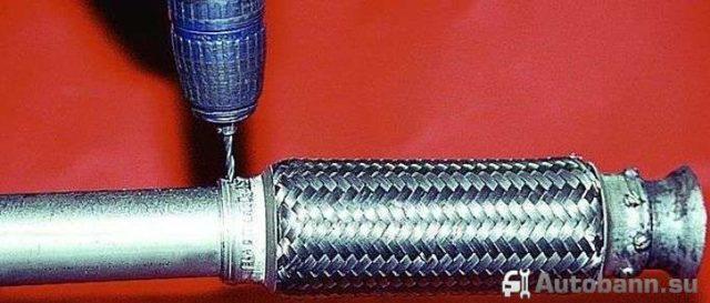 Замена гофры глушителя на Ладе Гранта: фото - всё о ремонте Лада
