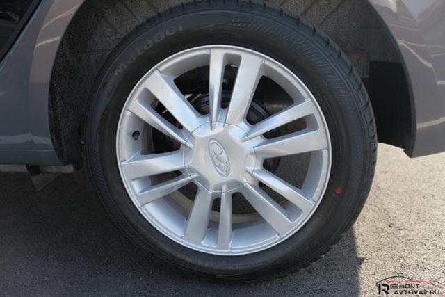 Какие шины и диски подойдут для Лады Веста? - всё о ремонте Лада