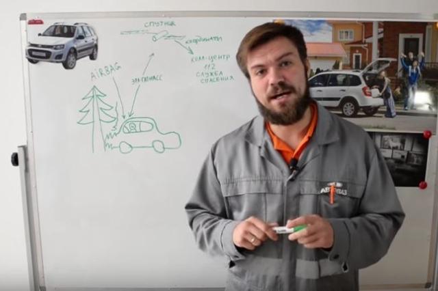 Как работает ЭРА-ГЛОНАСС - всё о ремонте Лада