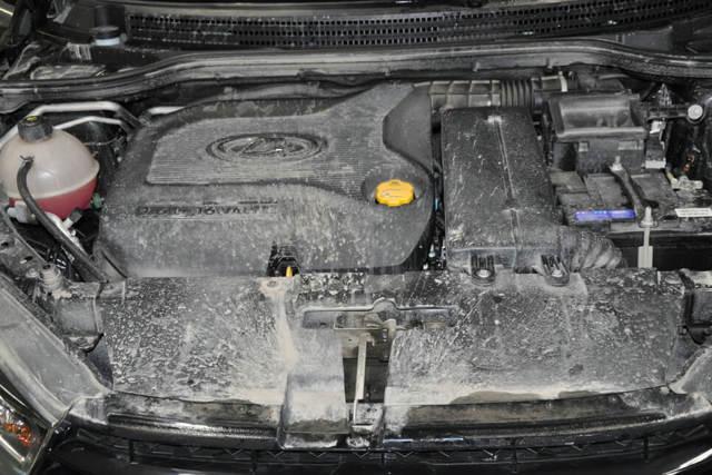 «Ладу Веста Кросс» удалось поймать почти без маскировки - всё о ремонте Лада