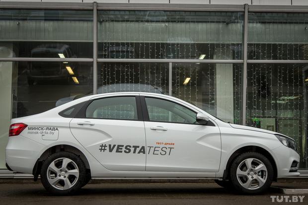 Большой тест системы esp Лады Весты - всё о ремонте Лада
