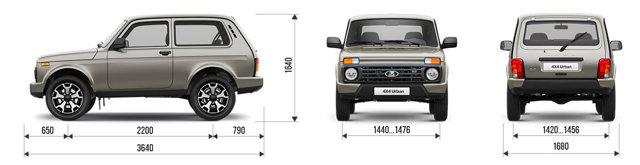 Сколько стоит lada 4х4 urban в Китае? - всё о ремонте Лада