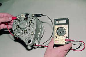 Проверка автомобильного аккумулятора и генератора мультиметром самостоятельно - всё о ремонте Лада