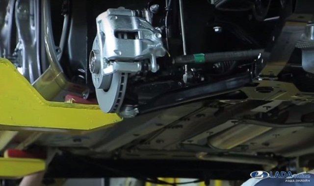 В чем секрет преимущества новой подвески lada vesta перед старыми? - всё о ремонте Лада