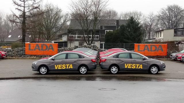 В Германии начались продажи lada vesta. Цены — от 12,5 тысячи евро - всё о ремонте Лада