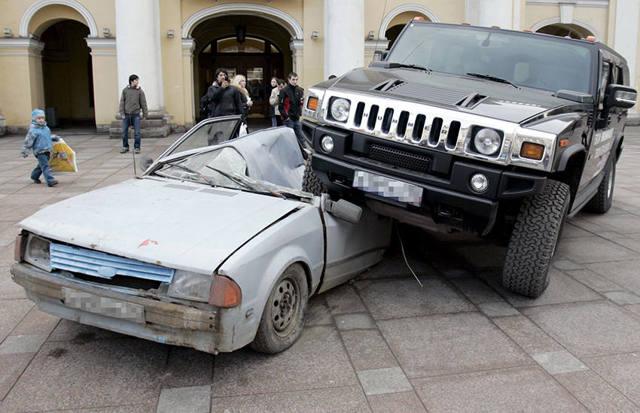 Ущерб при дорожно-транспортном происшествии. Возмещение - всё о ремонте Лада