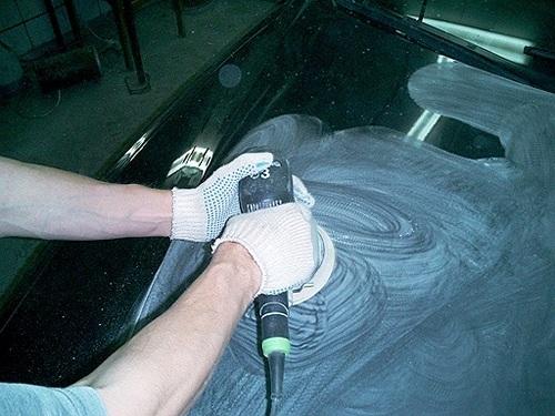 Полируем автомобиль своими руками - всё о ремонте Лада