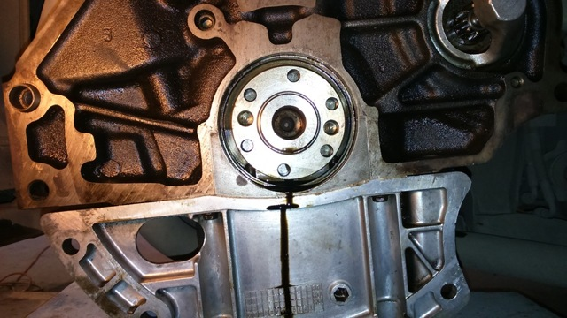 Профилактика сцепления и заднего сальника коленвала - всё о ремонте Лада