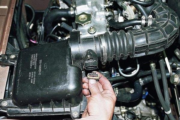 Диагностика датчика массового расхода воздуха - всё о ремонте Лада