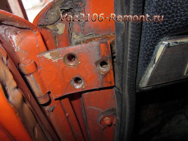 Как открутить дверь ВАЗ 2106? - всё о ремонте Лада