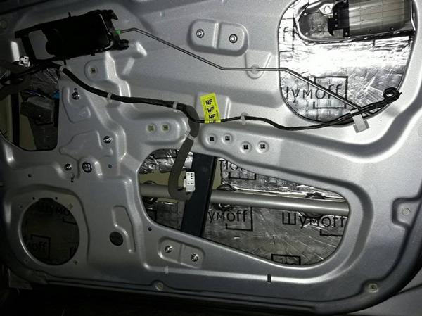 Дополнительная шумоизоляция дверей - всё о ремонте Лада