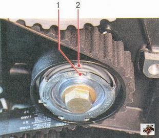 Профилактика ремня ГРМ и натяжного ролика - всё о ремонте Лада