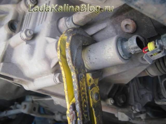 Проверка соленоида включения блокировки передачи заднего хода - всё о ремонте Лада