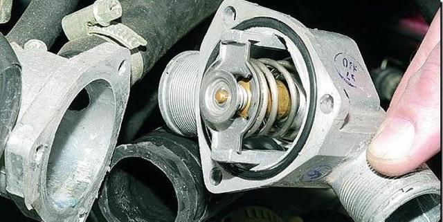 Профилактика термостата - всё о ремонте Лада