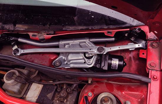 Диагностика работы трапеции и мотора стеклоочистителя - всё о ремонте Лада