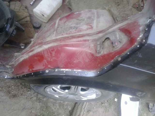 Замена переднего крыла на Таврии  - всё о ремонте Лада