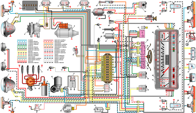 Установка аварийной сигнализации на ВАЗ 2101 - всё о ремонте Лада