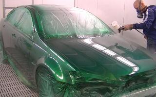 Покраска авто в гараже. Некоторые нюансы - всё о ремонте Лада