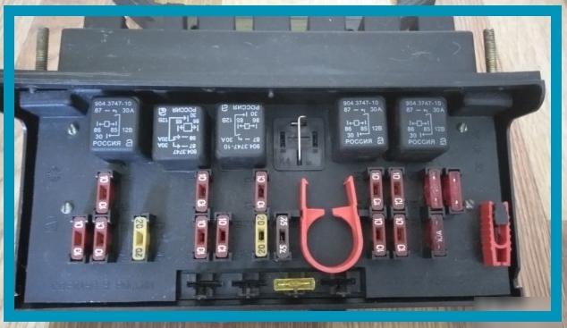 Предохранители ВАЗ 2107, блок старого образца  - всё о ремонте Лада