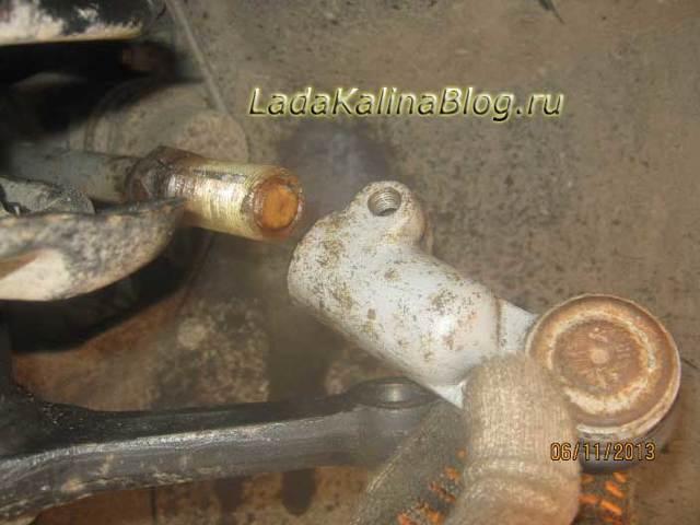 Рулевые наконечники на Калине – проверка и профилактика: фото - всё о ремонте Лада