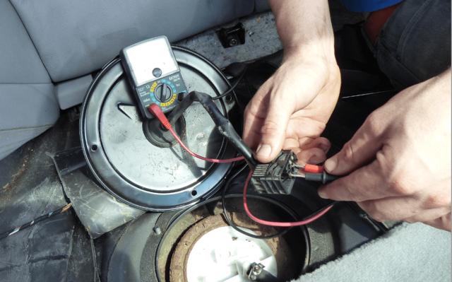 Диагностика работоспособности топливного насоса - всё о ремонте Лада
