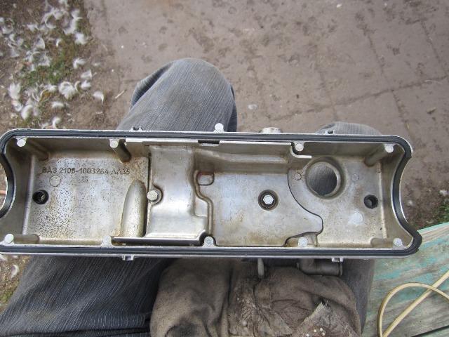 Проверка состояния прокладки клапанной крышки - всё о ремонте Лада