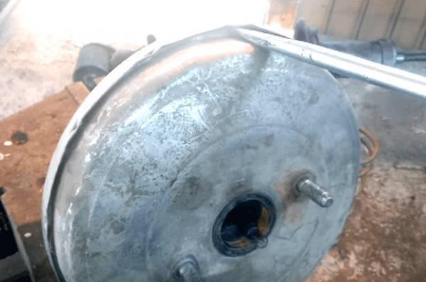 Профилактика вакуумного усилителя тормозов - всё о ремонте Лада