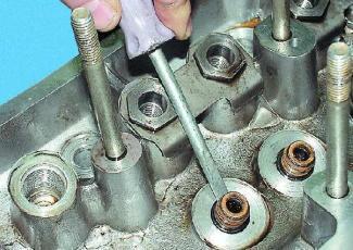 Чертеж оправки для замены втулок клапанов - всё о ремонте Лада