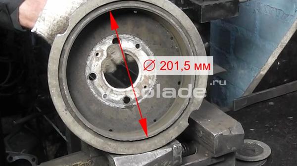 Как проверить состояние задних тормозных колодок и барабана - всё о ремонте Лада