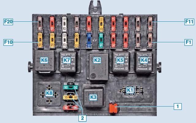 Проверка ламп блок-фары, задней фары и подсветки номерного знака - всё о ремонте Лада