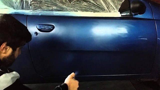 Как покрасить серебром без полос и облак - всё о ремонте Лада