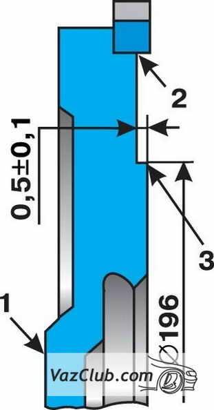 Проверка состояния шкива коленчатого вала - всё о ремонте Лада